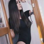 Anna Pruska top model Lingerie